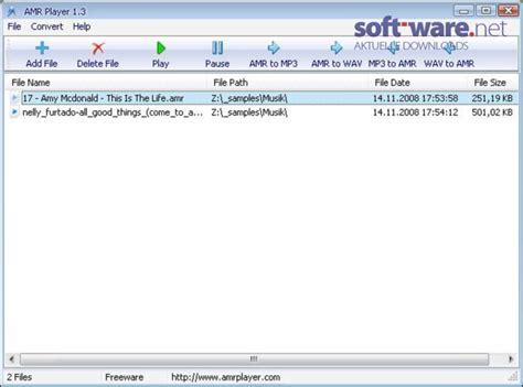 amr download amr player 1 3 download windows deutsch bei soft