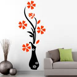 floral wall stickers for living room home d 233 cor by