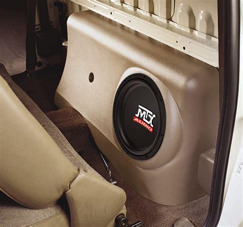 Toyota Tacoma Subwoofer Toyota Tacoma Regular Cab 1996 2004 Thunderform Custom