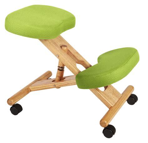 teknik office kneeling stool wood