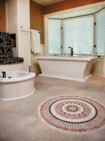 Tile Floor Designs For Bathrooms 8 Flooring Ideas For Bathrooms