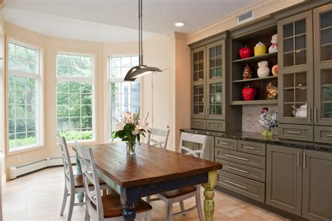 built in cabinets in dining room built in china cabinet dining room traditional with
