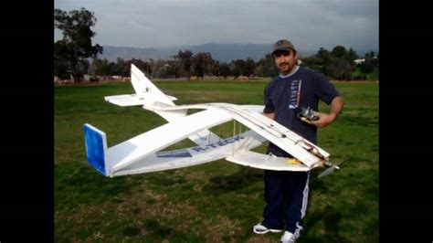 Foot Step Model Wing 8 foot hollow wing rc plane by haddadrc
