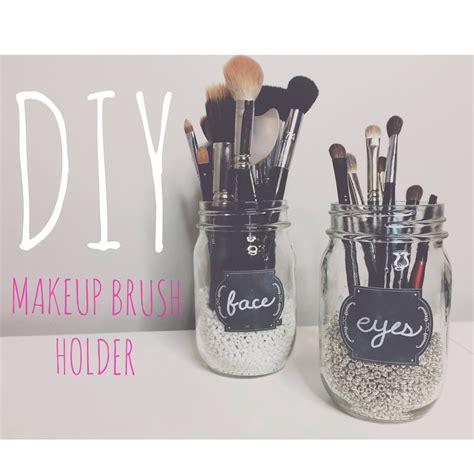 put in makeup brush holder makeup brush holder diy makeup vidalondon