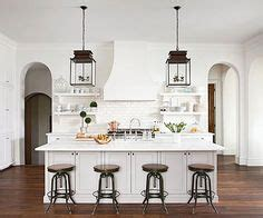 exle of pendants on each side of hood over island kitchens i love on pinterest white kitchens open