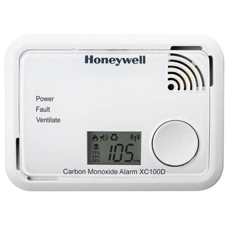 Carbon Monoxide Smoke Alarm Detector Detektor Co2 carbon monoxide detector with optional digital display honeywell xc100