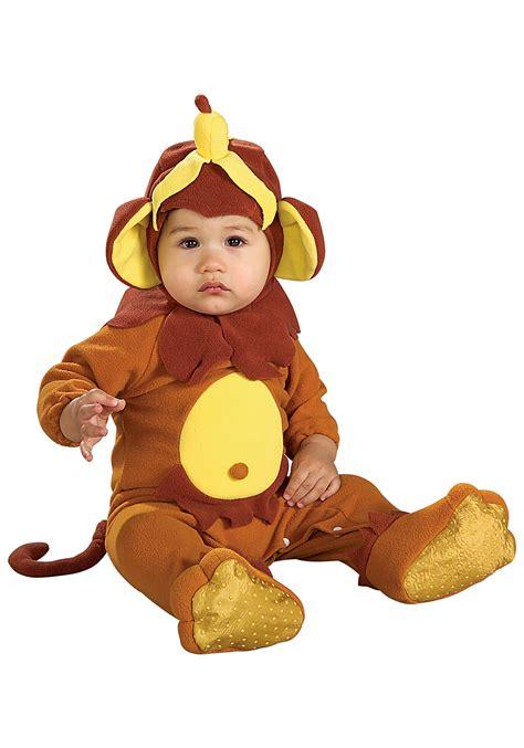 infant banana peel monkey costume