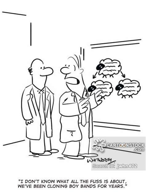 Cloning Laboratory Cartoons and Comics - funny pictures ... Genetics Jokes