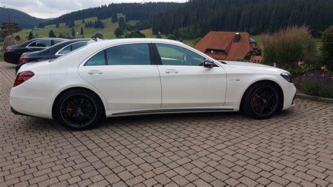 Bmw Alpina B7 2020 Prix by Essai Rapide Mercedes Amg S 63 4matic 2018 Luxury Car
