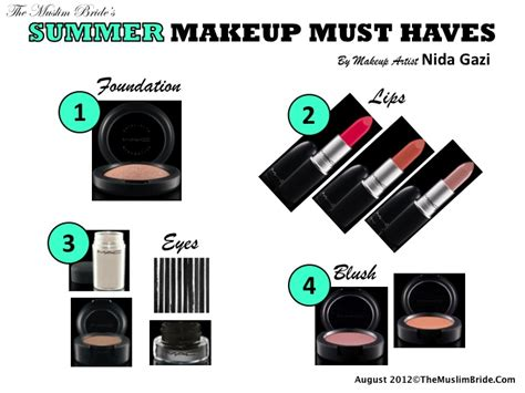 Your Summer Makeup Must Haves For 08 by Summer Makeup Must Haves By Nida Gazi The Muslim