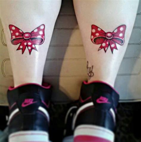 minnie mouse bow tattoo minnie mouse bows and tattoos and on