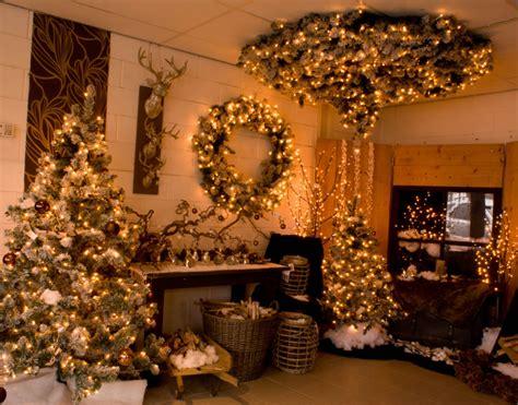 a d amp c versierde kerstboom verhuur kerstimpressies