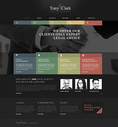 bootstrap themes lawyer bootstrap cherry framework responsive wordpress theme