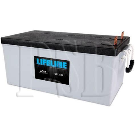 Susumu Suzukis Water Powered Battery by Gpl 8dl Lifeline Oem 12 Volt 255ah 8d Sealed Agm