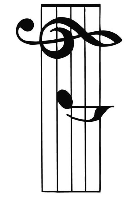 music staff coloring pages coloring page staff music img 12887