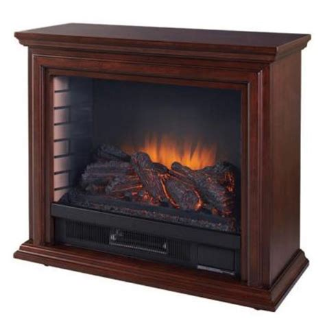 Hton Bay Electric Fireplace Reviews hton bay derry 32 in compact infrared electric
