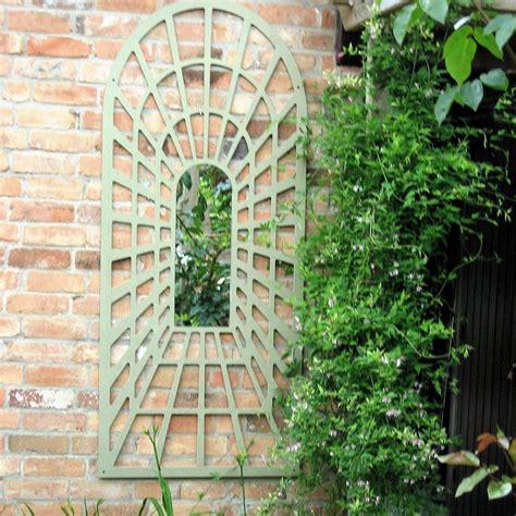 Large Garden Trellis large trellis perspective garden mirror