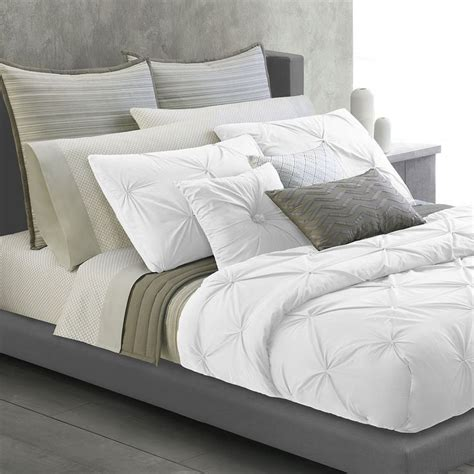 white twist duvet cover and shams kohls bedding pinterest