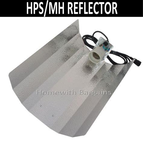 grow light reflector hps mh grow light reflector barn e40 fitting
