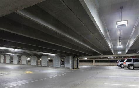 Parking Garage Lighting Fixtures Cree Led Lighting Brightens Up Reston Hospital Center Parking Garage Ledinside