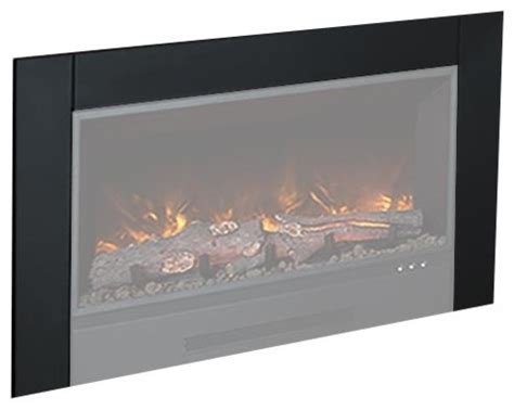 fireplace trim kit modern flames zcr series trim kit contemporary indoor fireplaces by pits direct