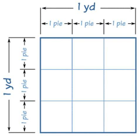 cuanto es un metro cuadrado cuanto cuantos metros tiene una yarda