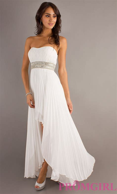 Dress Viory high low ivory dresses dave and johnny prom dresses promgirl