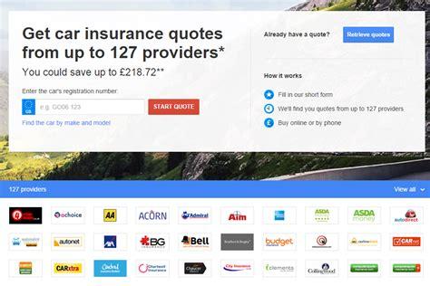 Car Insurance Comparison Quote 5 by Compare Car Insurance Quotes Admiral Insurance Uk Autos Post