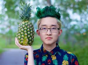 pineapple hairstyle see the reddit user that got a pineapple haircut