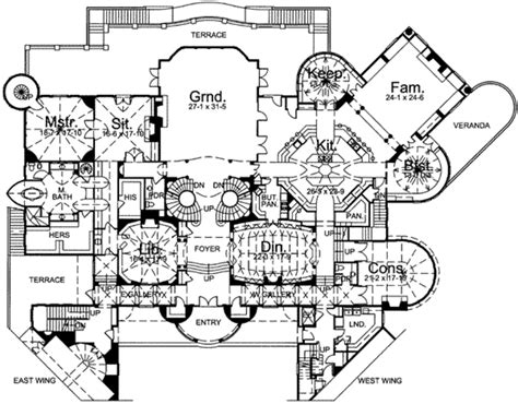 12 bedroom house plans european style house plan 12 beds 15 baths 22229 sq ft plan 119 162