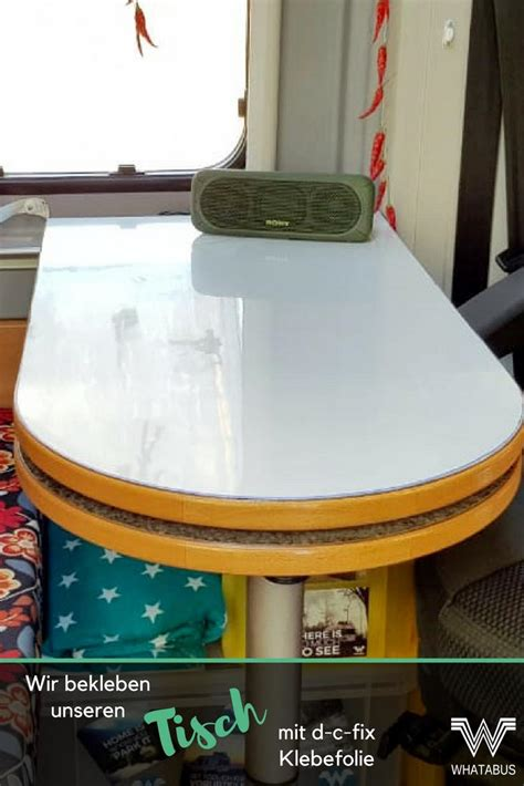 Tisch Bekleben