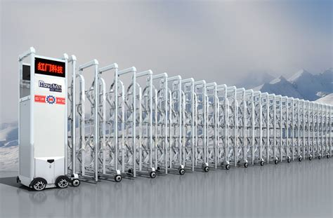 retractable gate wireless electric retractable gate intelligent ss304 automatic folding gate