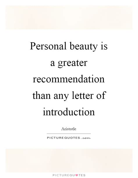 Introduction Letter For Quote Recommendation Quotes Sayings Recommendation Picture
