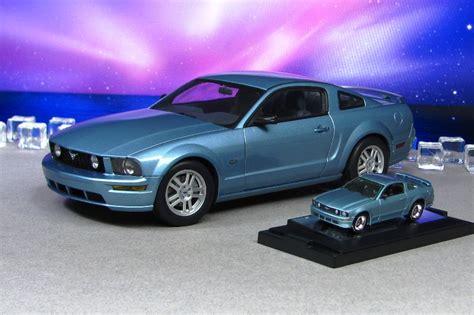 light blue mustang gt 2005 ford mustang gt light blue 18 64 autoart by