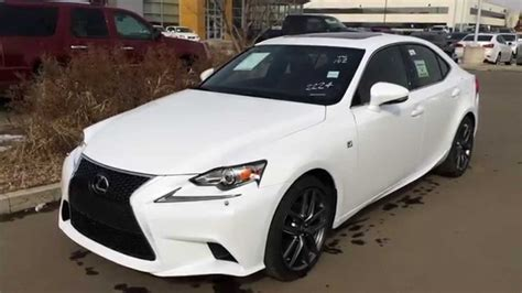 2014 Lexus Is350 White 2014 Lexus Is 250 Awd Executive F Sport Package Review
