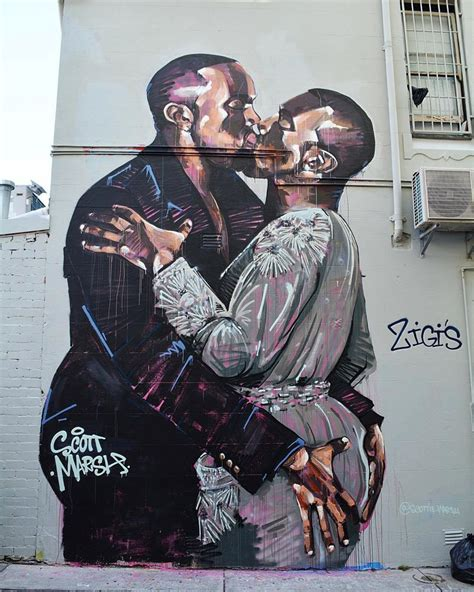 spray painter memes aussie artist spray paints mural of the kanye