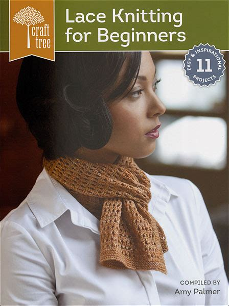 knitting books for beginners craft tree lace knitting for beginners from knitpicks