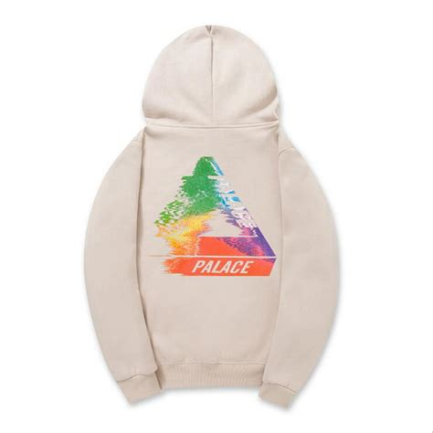 Sweater Supreme Miror Palace Miror Best Quality high quality mens palace skateboards hoodie plus velvet warm 100 cotton triangle sweat
