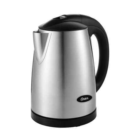pot 0 7l stainless oster 174 1 7l variable temperature kettle stainless steel