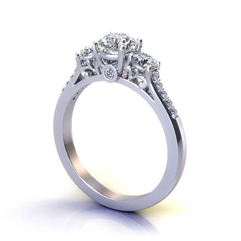 Filigree Engagement Ring by Three Filigree Engagement Ring Jewelry Designs
