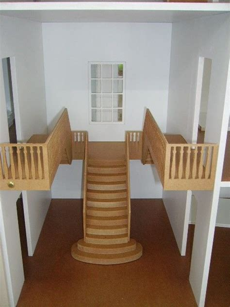 doll house stairs cool idea for interior staircase miniature roomboxes