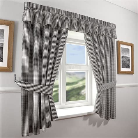 1000 ideas about black white curtains on