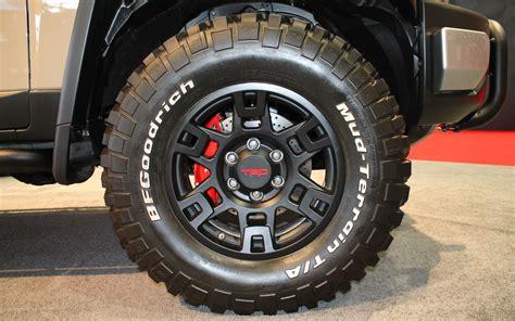 Toyota Tacoma Trd Wheels New 17 Quot Trd Wheel Shown At Sema Tacoma World Forums