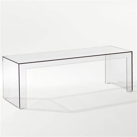 kartell bench invisible side kartell shop