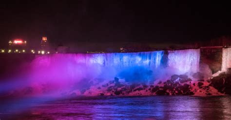 niagara falls ontario lights niagara falls lights get a dazzling 4m makeover