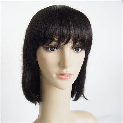 are there any full wigs made from human kinky hair that is styled in a two strand twist for black woman hair products top short cut bob 100 human hair wigs