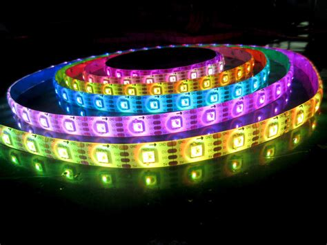 rgb led light strips apa102 digital rgb led 5v 60ledw 18w