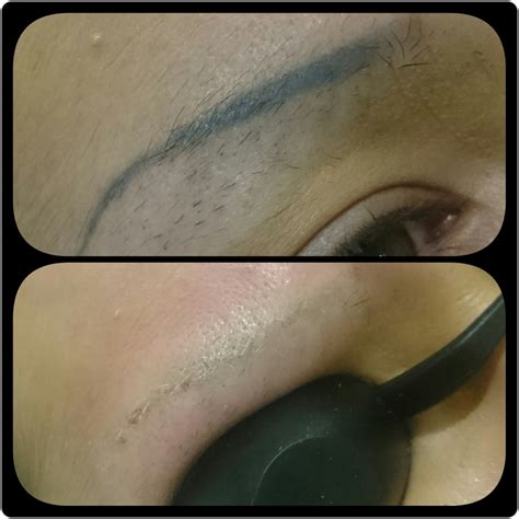 remove eyebrow tattoo remove semi permanent makeup at home saubhaya makeup