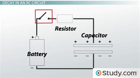 charging capacitor parallel resistor resistor capacitor rc circuits definition explanation lesson transcript study