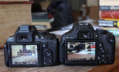 Kamera Nikon D3200 Vs Canon 600d to review canon t3i vs nikon d5100 techcrunch